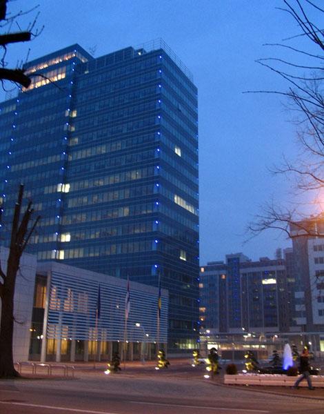 Edificio del Gobierno de la República Srpska en Banja Luka