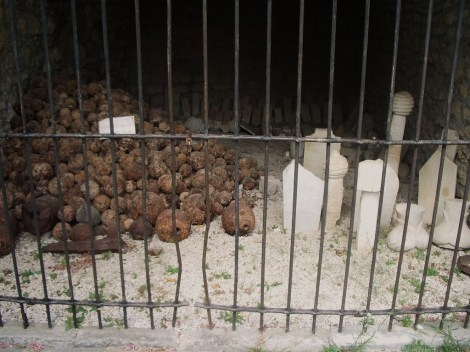 Ulcinj - Celda en la fortaleza - Fortress' cell