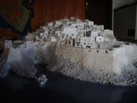 Ulcinj - Model of the walled city
