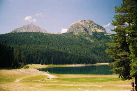 Crno Jezero - Lago Negro en Durmitor