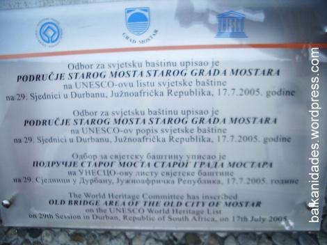 Placa 4 idiomas - Puente Mostar_redimensionar