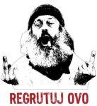"""Recluta esto"". Imagen actual del movimiento pacifista e insumiso serbio."