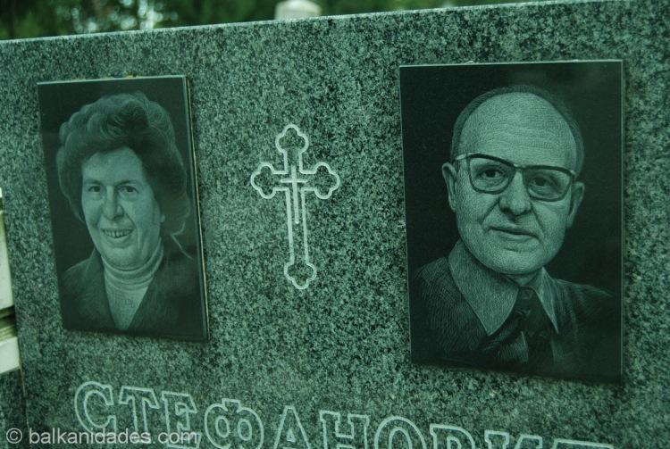 Lápidas cementerio Belgrado Zemun _0010