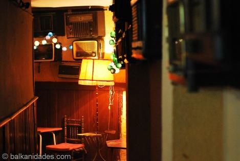 """""""Museo de la radio"""", un bar de tapas en Madrid."""